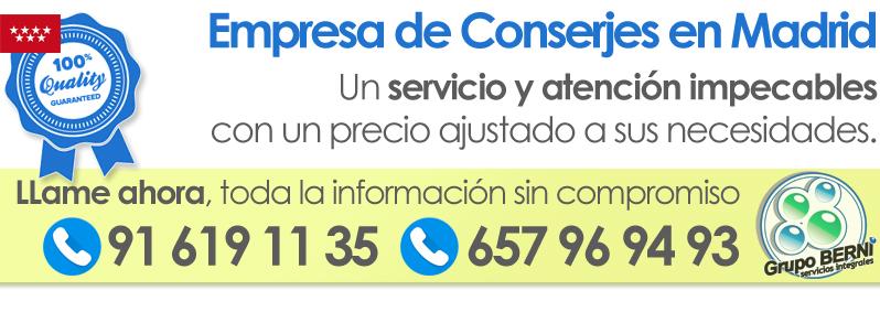Empresa de Conserjes Madrid