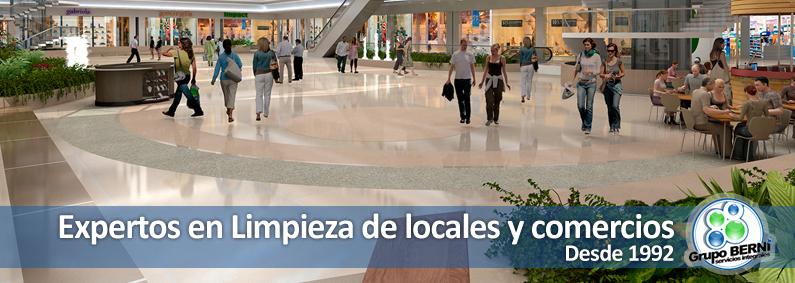 limpieza de locales y centros comerciales