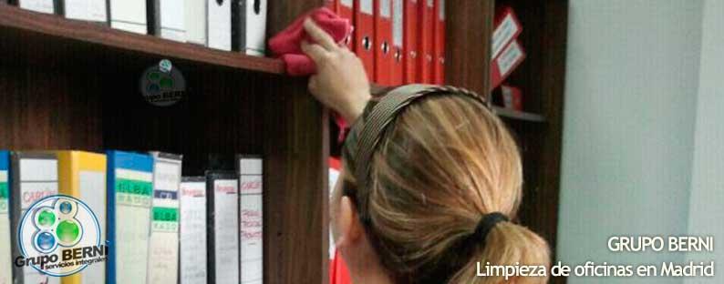 Limpieza de oficinas limpiezas berni for Oficinas de muface en madrid