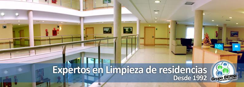 Limpieza de residencias en Madrid