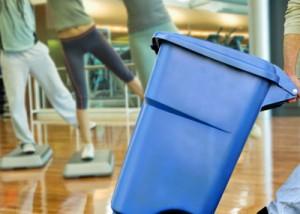 Limpieza de gimnasios en comunidades de vecinos