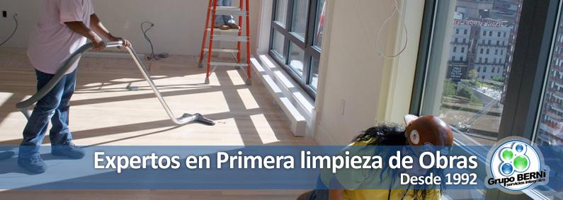 Empresa de primera limpieza de obras en Madrid