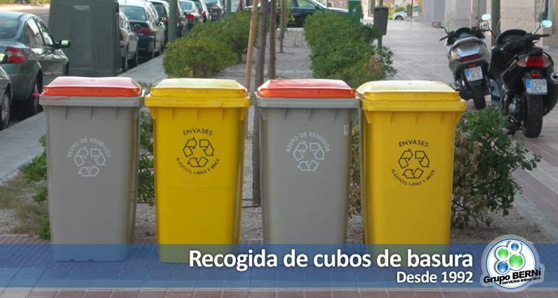 Gestion, recogida y limpieza de cubos de basura en Madrid