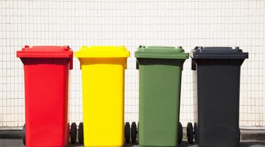 recogida cubos basura madrid