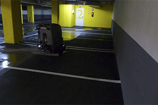 limpieza de garaje inundado