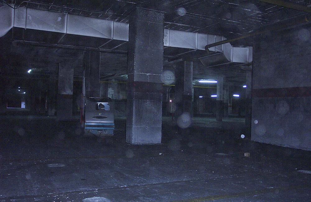 limpieza de garaje quemado