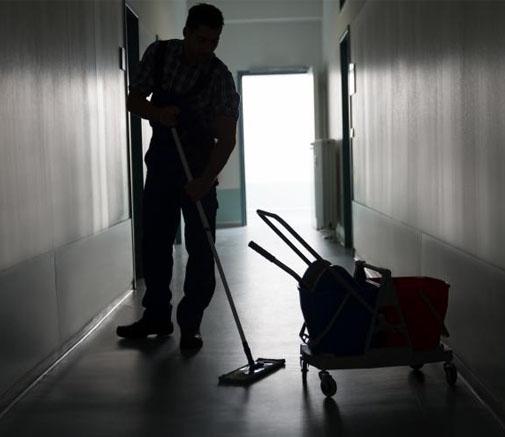limpieza escalera rellanos portales